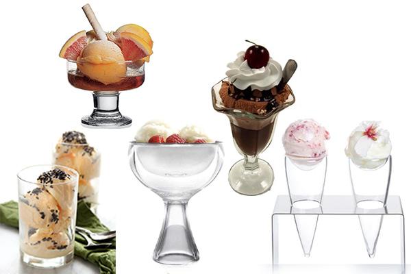 dondurma sunumu