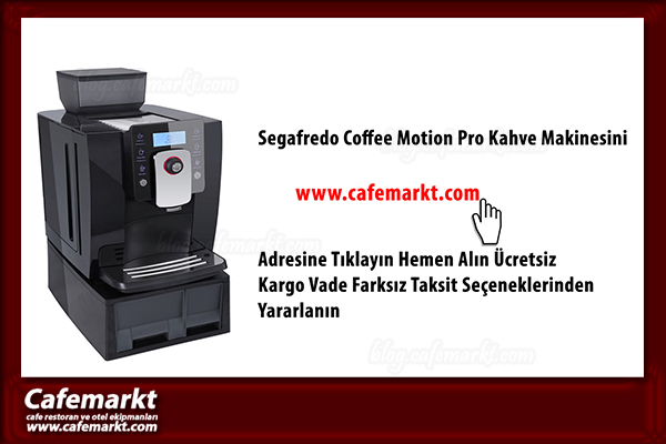 Segafredo Coffee Motion Pro Kahve Makinesi