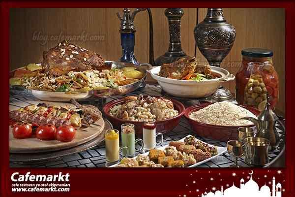Ramazanda Açık Büfe Servis