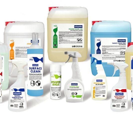 endüstriyel temizlik malzemeleri