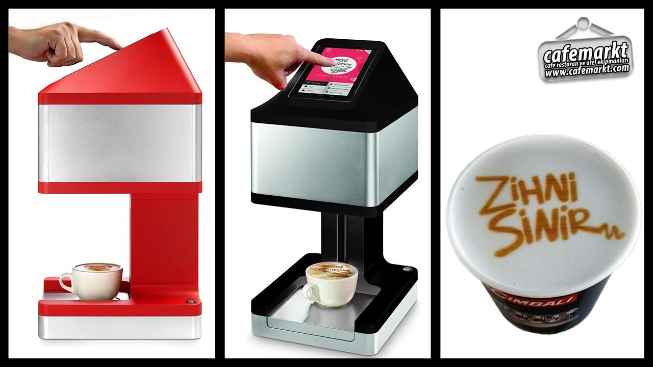 Kahve Süsleme Makinesi Ripples